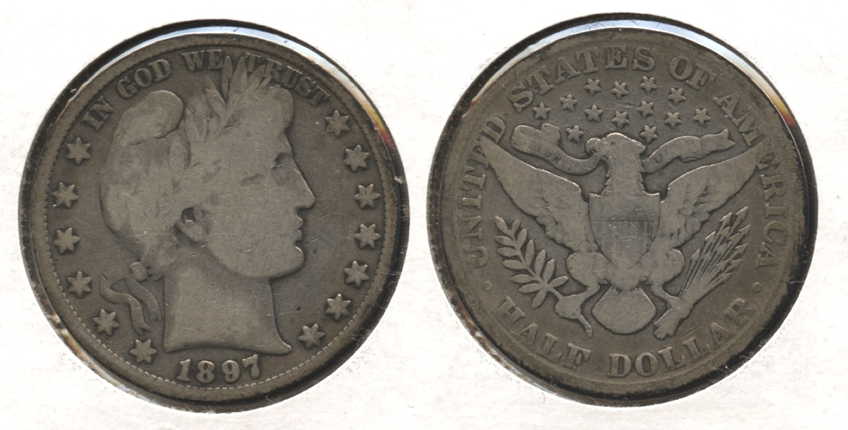 1897 Barber Half Dollar Good-4 #j