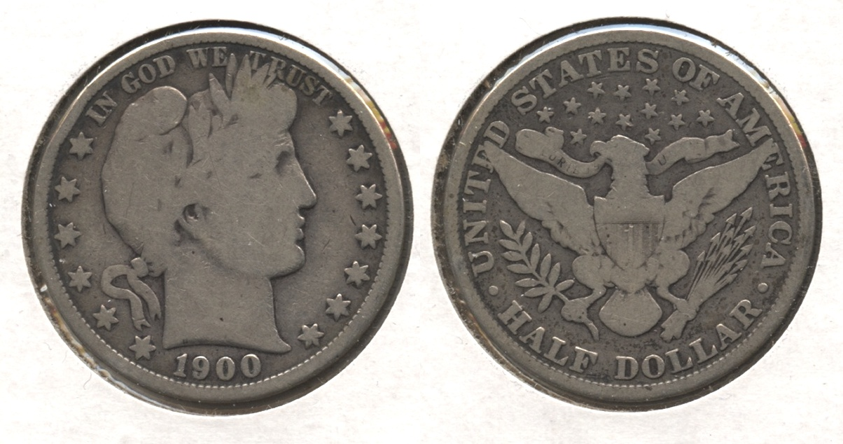1900 Barber Half Dollar Good-4 #o
