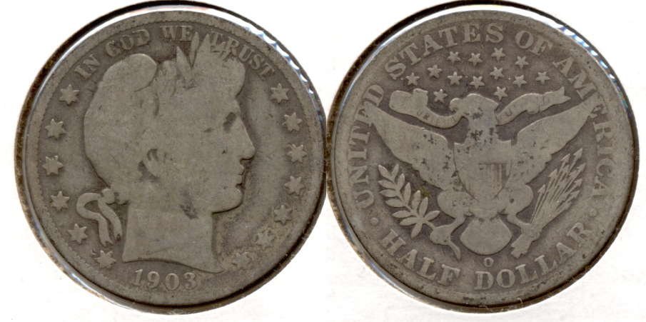 1903-O Barber Half Dollar Good-4