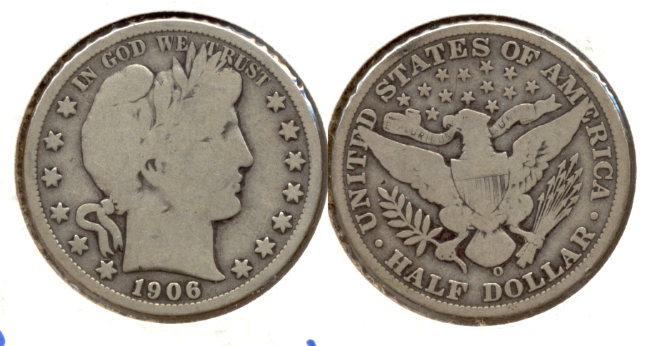 1906-O Barber Half Dollar Good-4