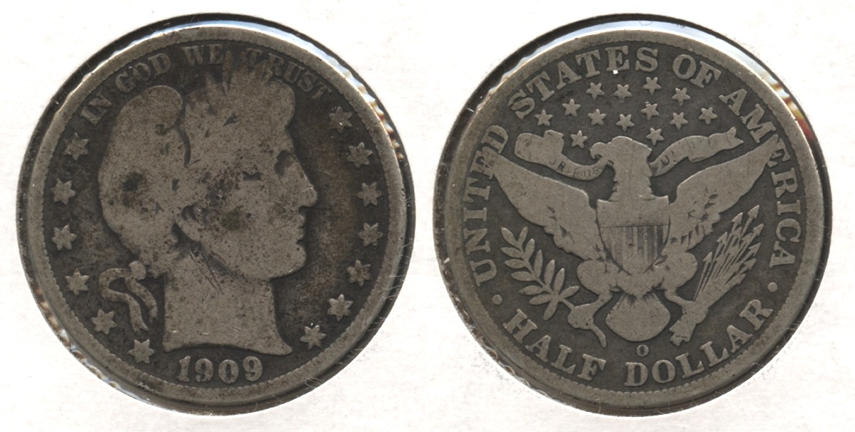 1909-O Barber Half Dollar Good-4 #c