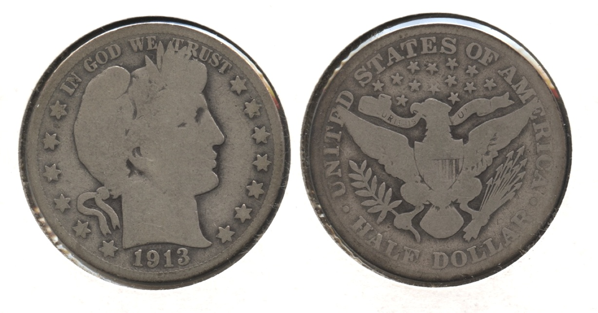 1913 Barber Half Dollar Good-4 #c