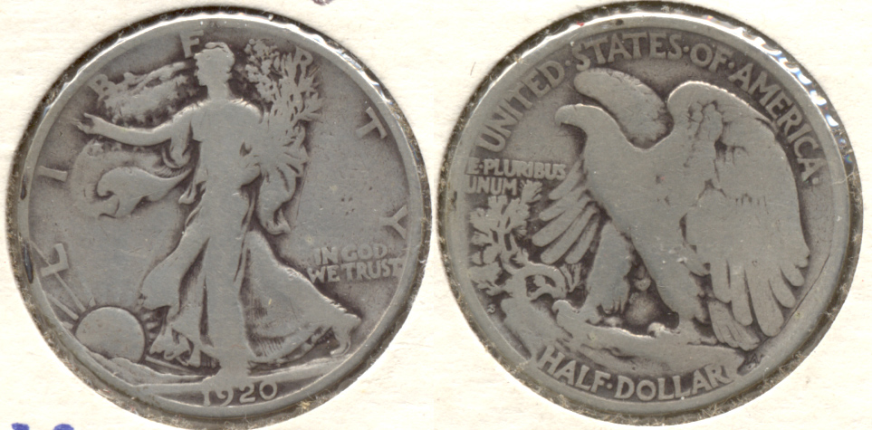 1920-S Walking Liberty Half Dollar Good-4 a