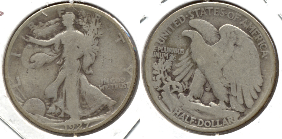1927-S Walking Liberty Half Dollar Good-4 e