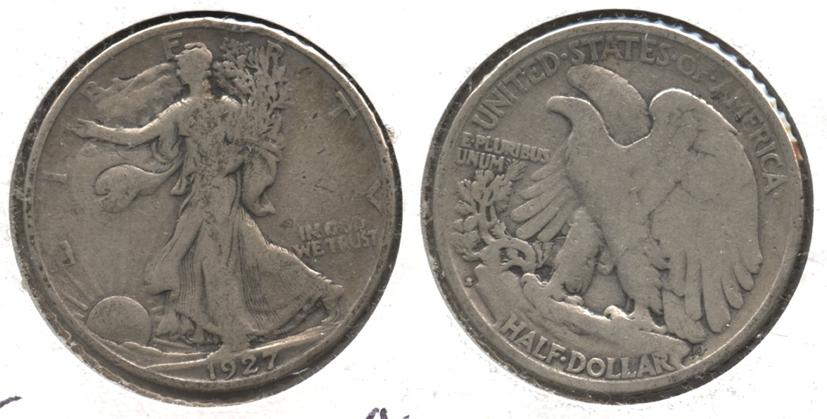 1927-S Walking Liberty Half Dollar VG-8 #ac