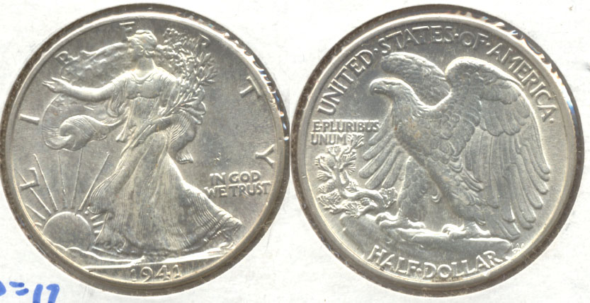 1941 Walking Liberty Half Dollar MS-60 a