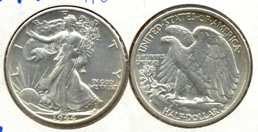 1944-S Walking Liberty Half Dollar AU-50