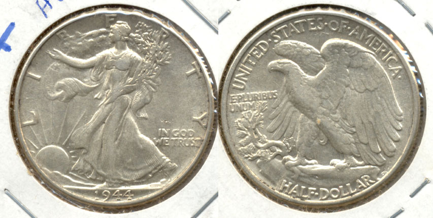 1944 Walking Liberty Half Dollar AU-50