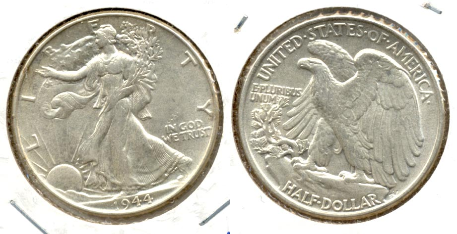 1944 Walking Liberty Half Dollar AU-50 g