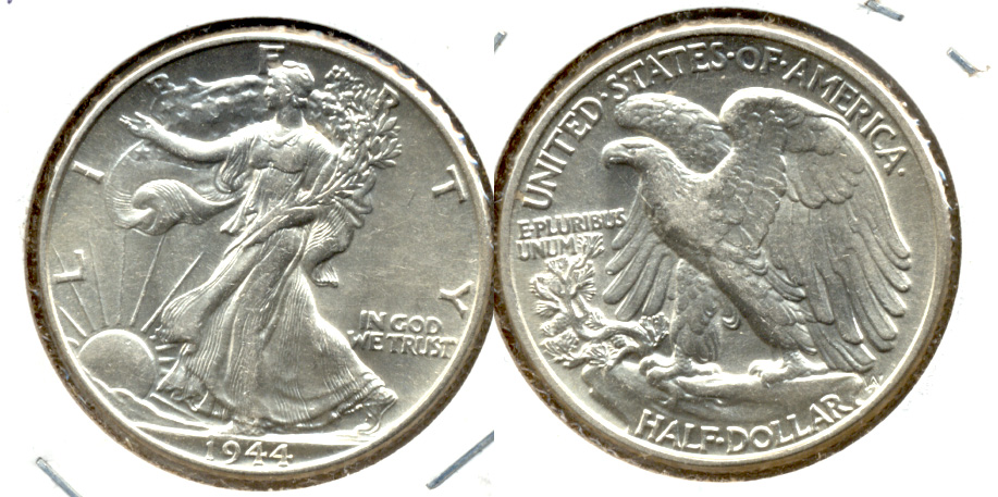 1944 Walking Liberty Half Dollar AU-55 j
