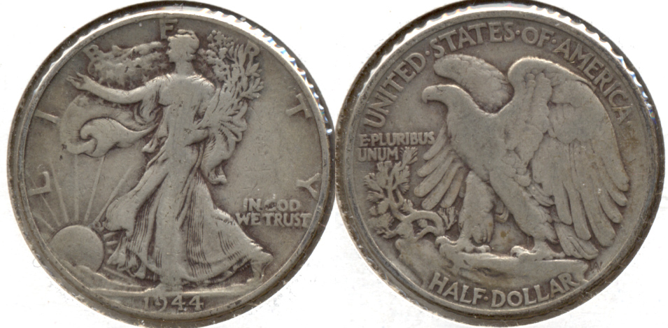 1944 Walking Liberty Half Dollar VG-8
