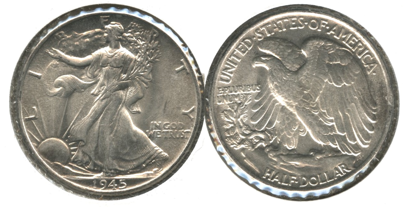 1945 Walking Liberty Half Dollar MS-63 #n