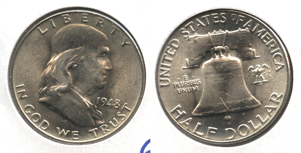 1948 Franklin Half Dollar MS-64 #c