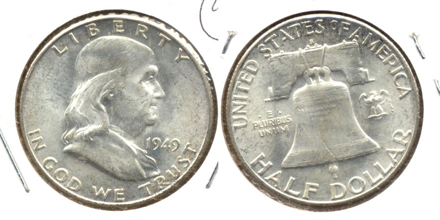 1949-S Franklin Half Dollar MS-63 a