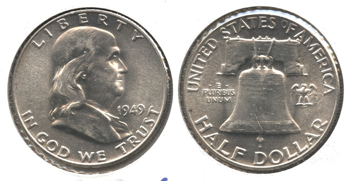 1949 Franklin Half Dollar MS-63 #e
