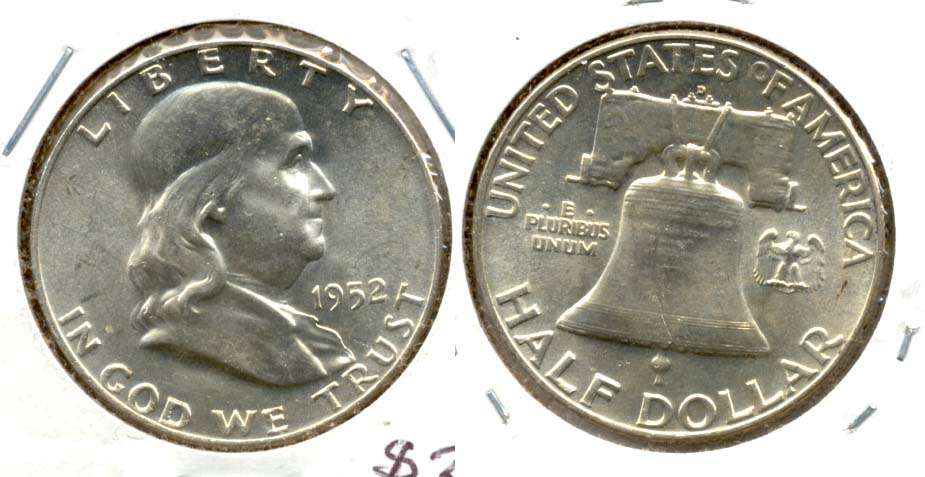 1952-D Franklin Half Dollar MS-63