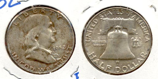 1952 Franklin Half Dollar MS-60 b