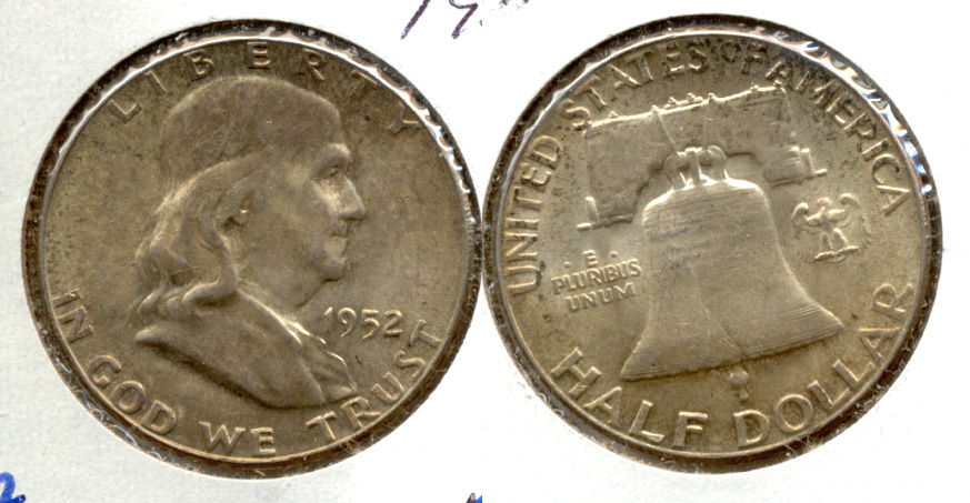 1952 Franklin Half Dollar MS-63