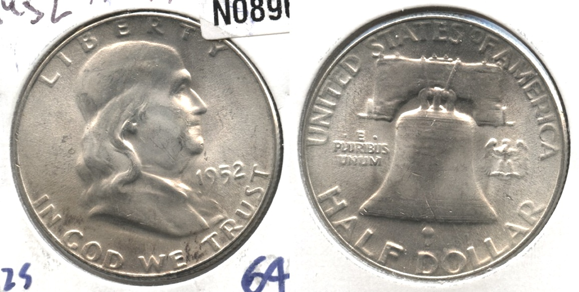 1952 Franklin Half Dollar MS-64 #c
