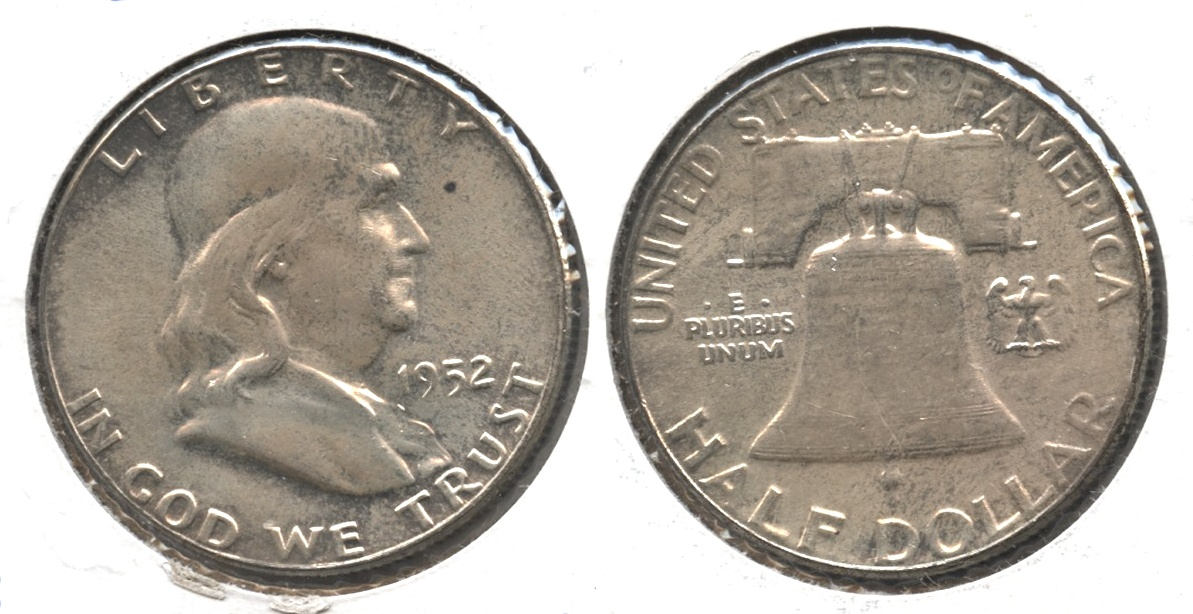 1952 Franklin Half Dollar MS-64 #d
