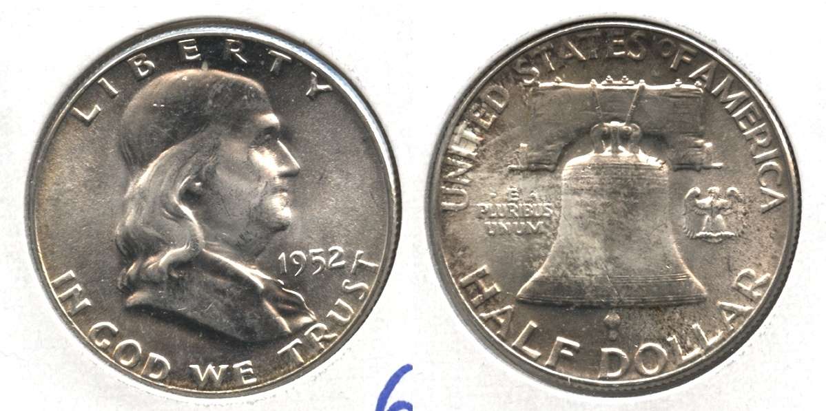 1952 Franklin Half Dollar MS-64 #g