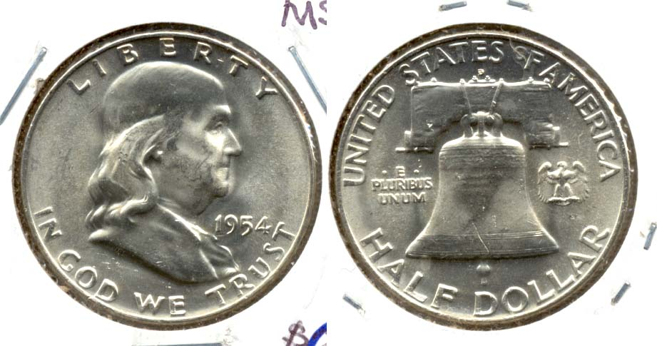 1954-D Franklin Half Dollar MS-63 a
