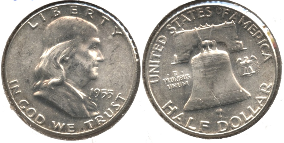 1955 Franklin Half Dollar MS-63 #c
