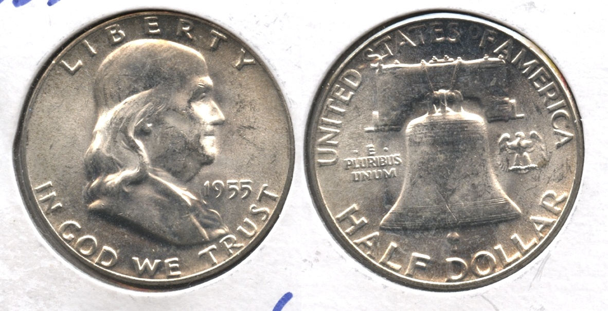 1955 Franklin Half Dollar MS-63 #i