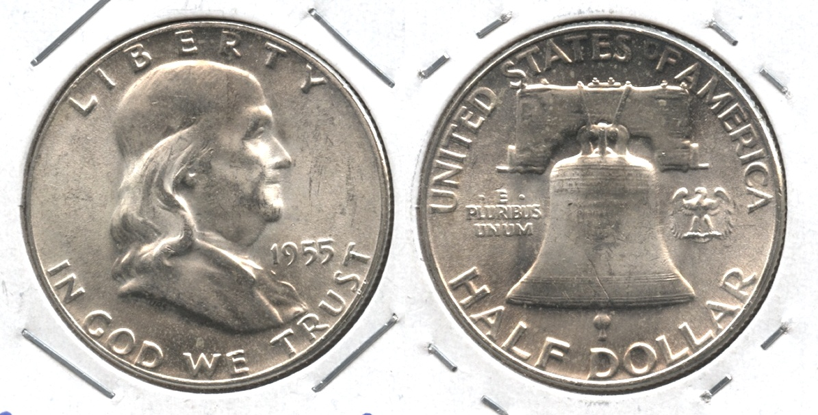 1955 Franklin Half Dollar MS-64 #n