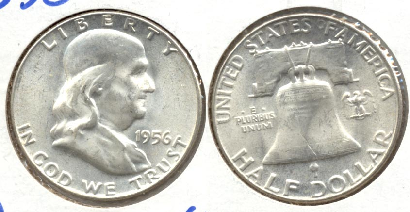 1956 Franklin Half Dollar MS-63 a