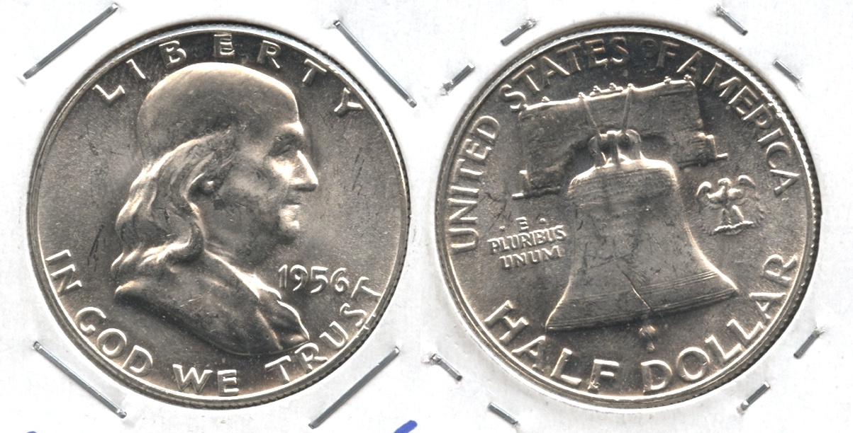 1956 Franklin Half Dollar MS-63 #d