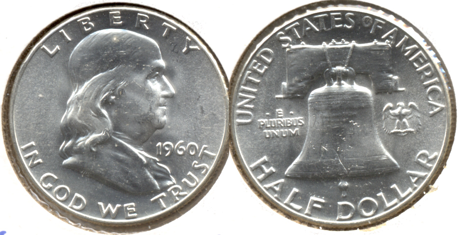 1960 Franklin Half Dollar MS-63 g
