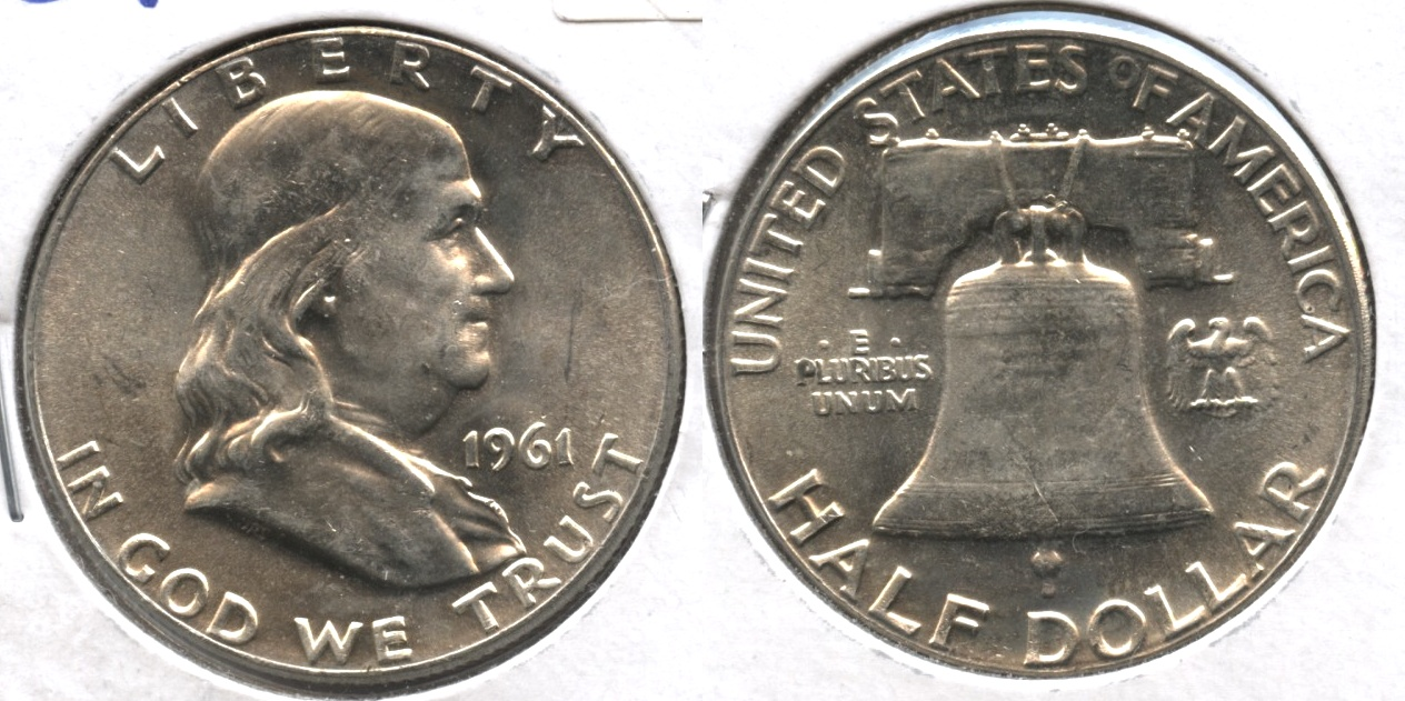 1961 Franklin Half Dollar MS-64