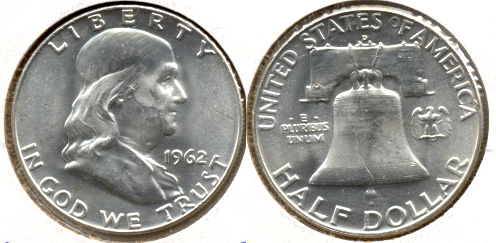 1962-D Franklin Half Dollar MS-63 i