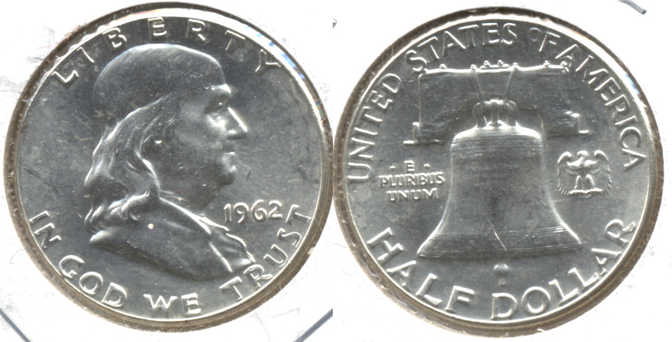 1962 Franklin Half Dollar MS-60