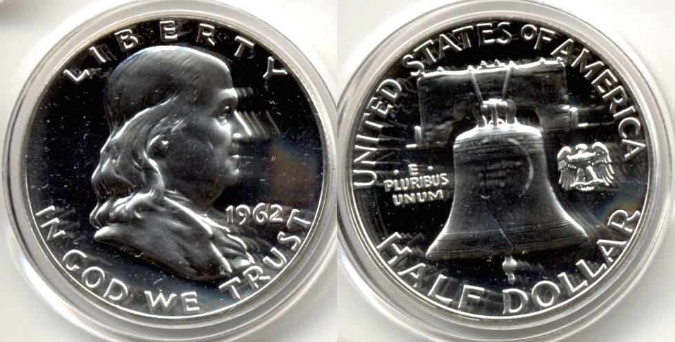 1962 Franklin Half Dollar Proof-65