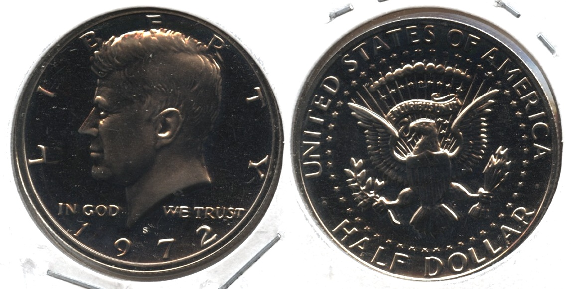 1972-S Kennedy Half Dollar Proof