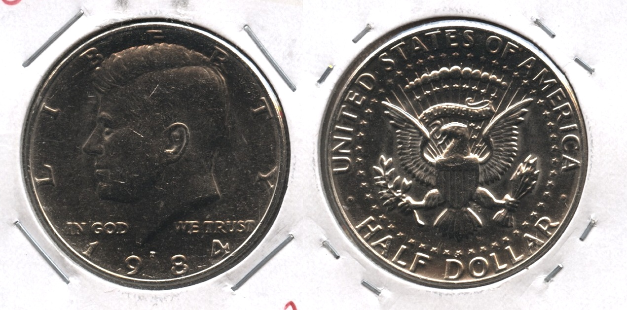 1984-P Kennedy Half Dollar Mint State
