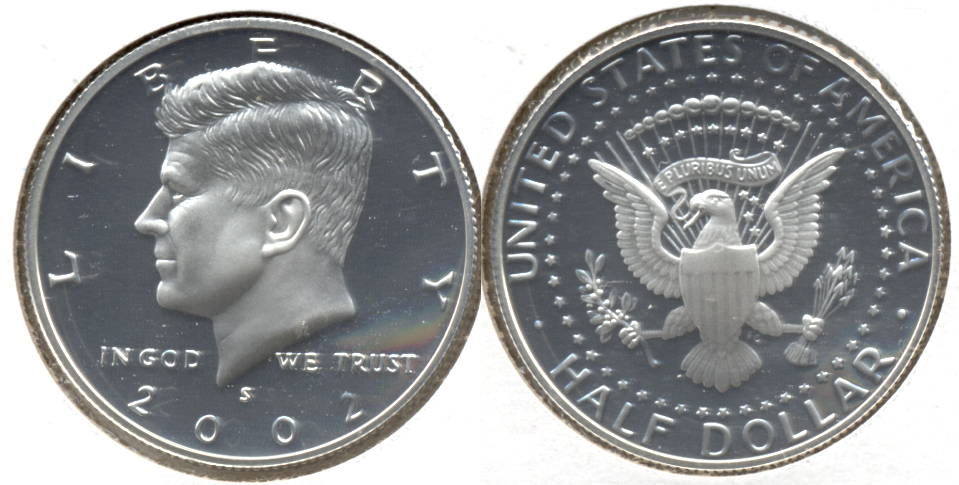 2002-S Silver Kennedy Half Dollar Proof