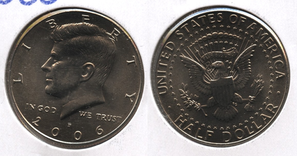 2006-P Kennedy Half Dollar Mint State