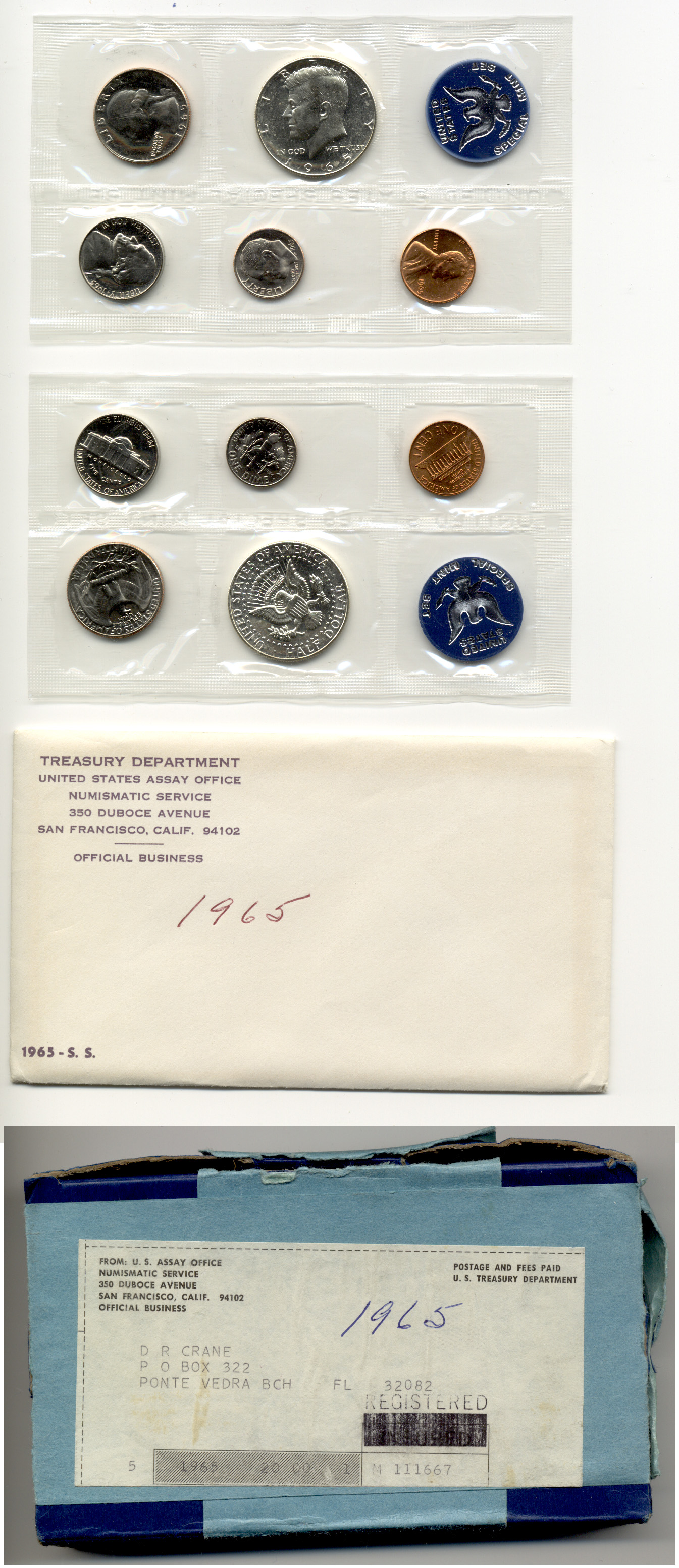 1965 United States Special Mint Set