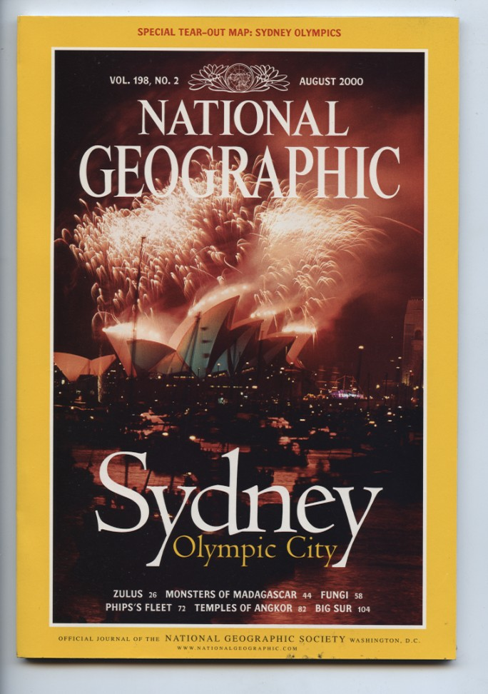 National Geographic Magazine August 2000