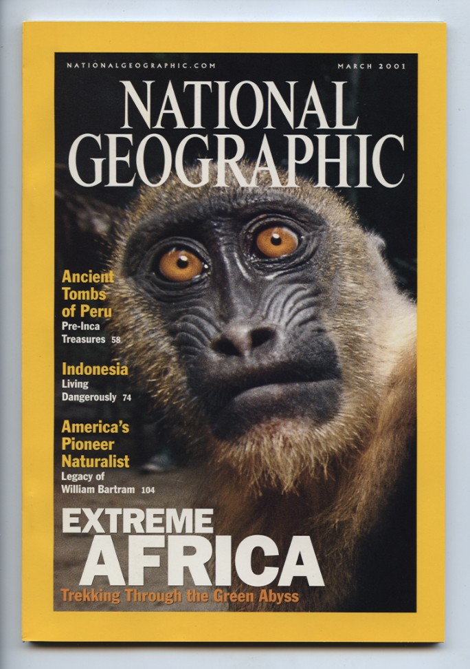 National Geographic Magazine March 2001