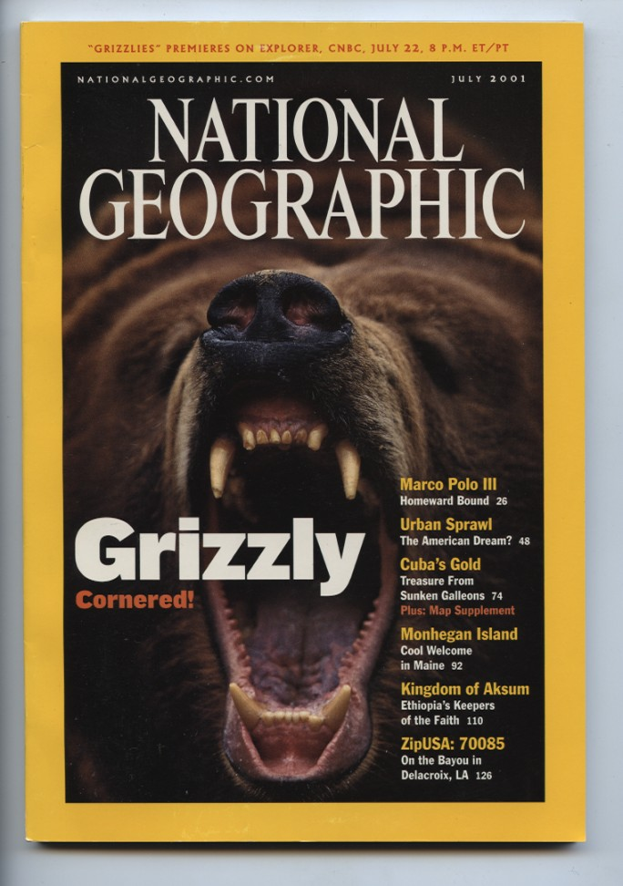 National Geographic Magazine July 2001