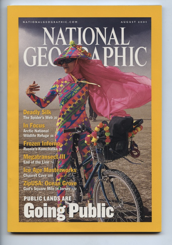 National Geographic Magazine August 2001
