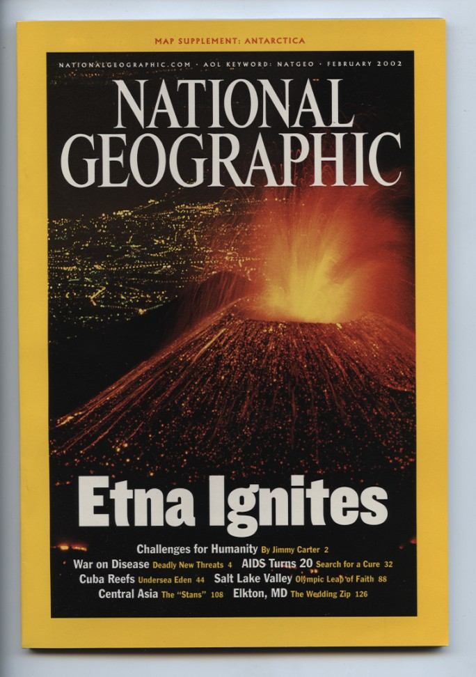 National Geographic Magazine February 2002