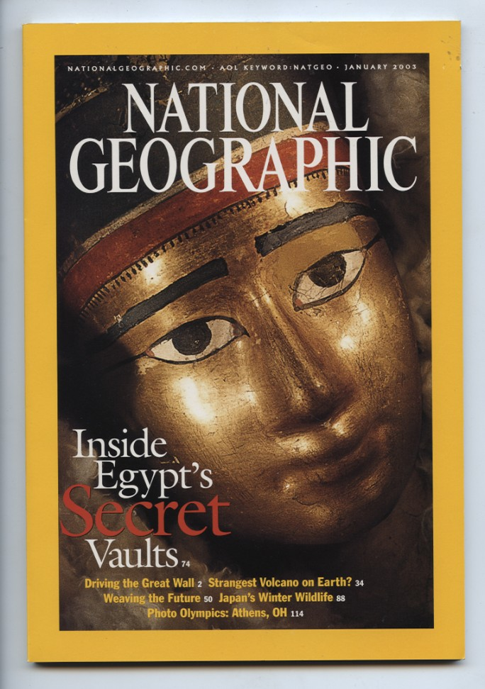 National Geographic Magazine January 2003