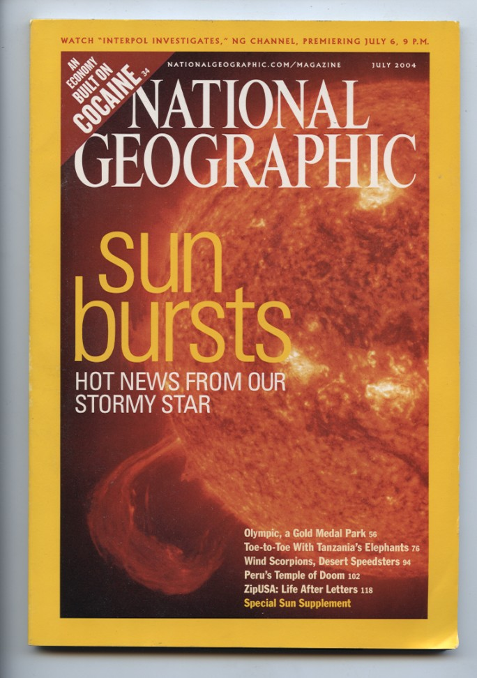 National Geographic Magazine July 2004