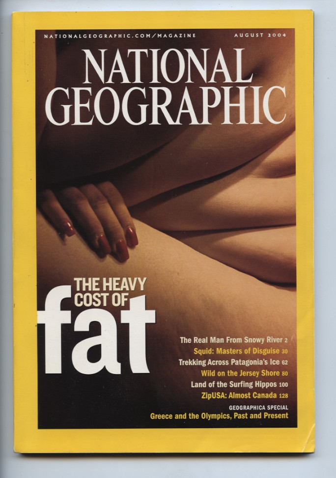 National Geographic Magazine August 2004
