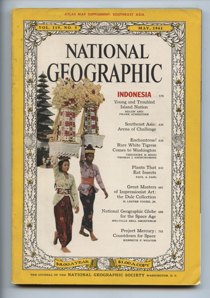 National Geographic Magazine May 1961